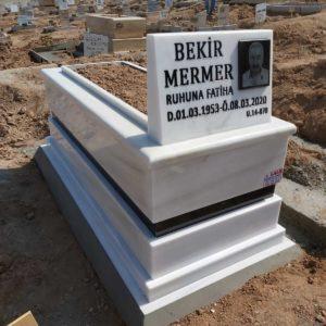 İzmir Beyaz Mermer Mezar