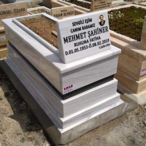 İstanbul Beyaz Mermer Mezar