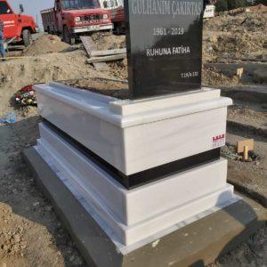 Isparta Beyaz Mermer Mezar