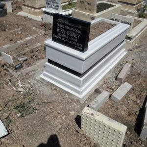 Hatay Beyaz Mermer Mezar