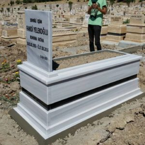 Hakkari Beyaz Mermer Mezar