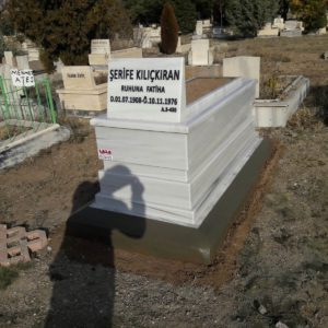 Giresun Beyaz Mermer Mezar