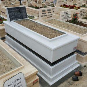 Erzurum Beyaz Mermer Mezar