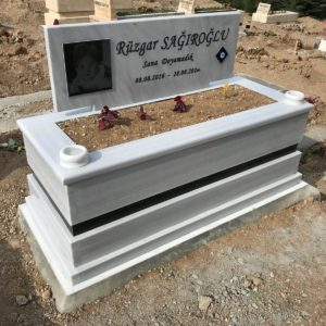 Erzincan Beyaz Mermer Mezar