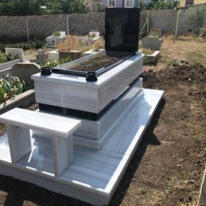 Diyarbakır Beyaz Mermer Mezar