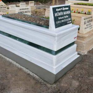 çorum Beyaz Mermer Mezar
