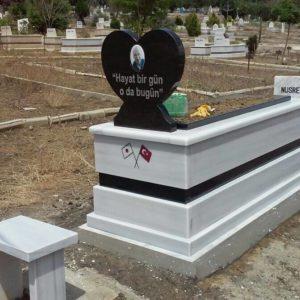 çanakkale Beyaz Mermer Mezar