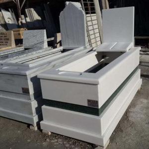 Burdur Beyaz Mermer Mezar