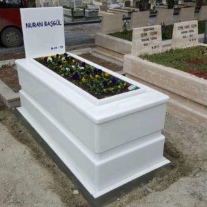 Bitlis Beyaz Mermer Mezar