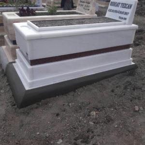 Balıkesir Beyaz Mermer Mezar