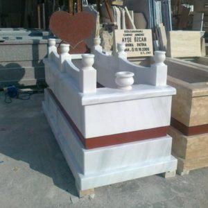 Aydın Beyaz Mermer Mezar