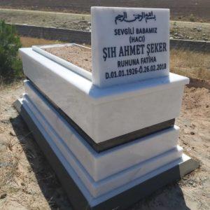 Antalya Beyaz Mermer Mezar