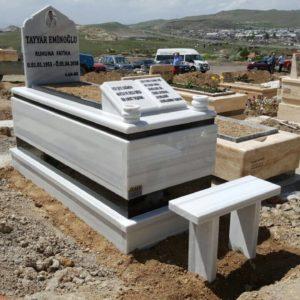 Afyon Beyaz Mermer Mezar