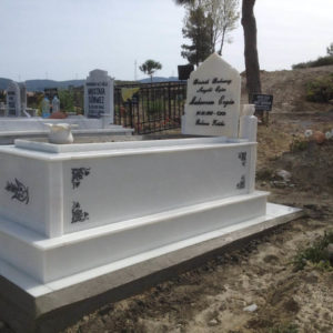Yenimahalle Beyaz Mermer Mezar
