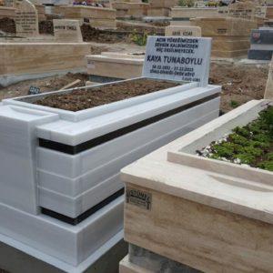 Şereflikoçhisar Beyaz Mermer Mezar