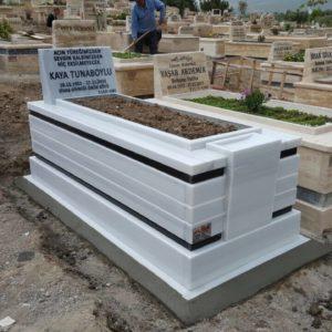 Sincan Beyaz Mermer Mezar