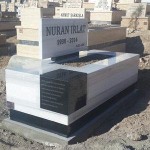 Polatlı Beyaz Mermer Mezar