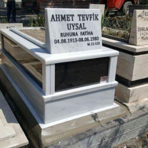 Mamak Beyaz Mermer Mezar
