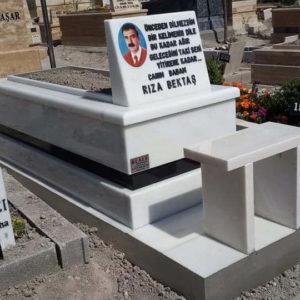 Kızılcahamam Beyaz Mermer Mezar
