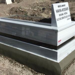 Kalecik Beyaz Mermer Mezar