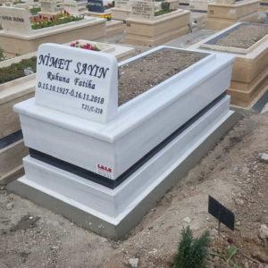 Kazan Beyaz Mermer Mezar
