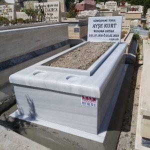 Gölbaşı Beyaz Mermer Mezar
