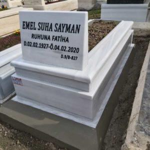 Etimesgut Beyaz Mermer Mezar