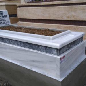 Elmadağ Beyaz Mermer Mezar