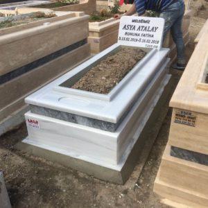 Çubuk Beyaz Mermer Mezar