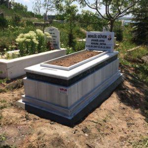 Çamlıdere Beyaz Mermer Mezar