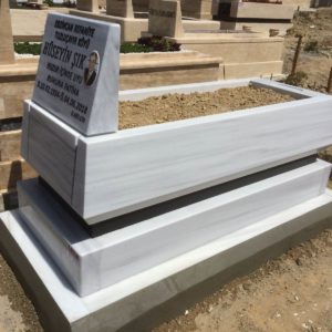 Ayaş Beyaz Mermer Mezar
