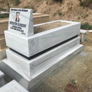 Incek Beyaz Mermer Mezar