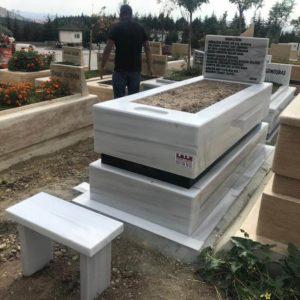 Sivrihisar Beyaz Mermer Mezar