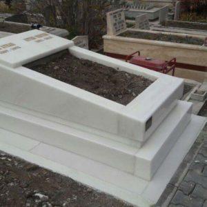 Muş Beyaz Mermer Mezar