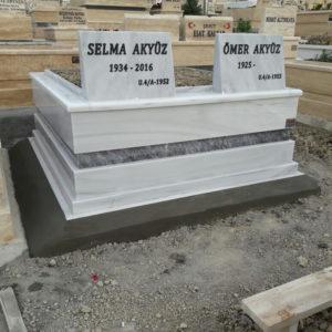 Manisa Beyaz Mermer Mezar