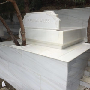 Konya Beyaz Mermer Mezar