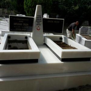 Kayseri Beyaz Mermer Mezar