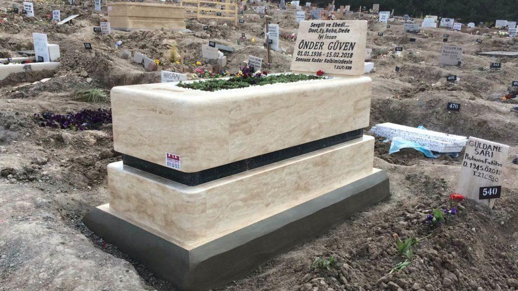 blok kalın mezar modelleri