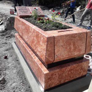 İçel Blok Kalın Mezar Modelleri