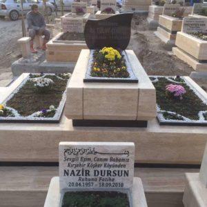 Aydın Blok Kalın Mezar Modelleri