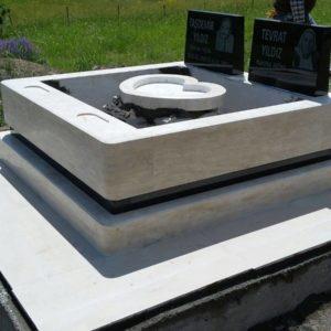 İncek Blok Kalın Mezar Modelleri