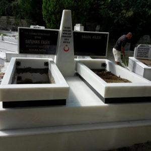 Kazan Blok Kalın Mezar Modelleri