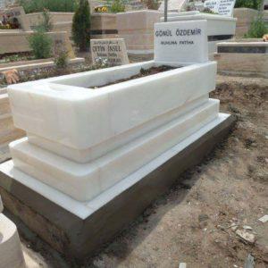 Ayaş Blok Kalın Mezar Modelleri