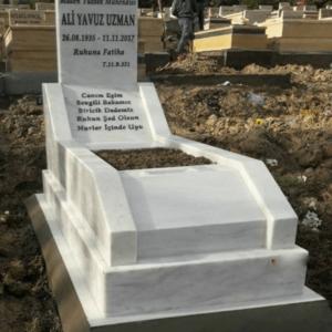 Cebeci Asri Mezarlığı Blok Kalın Mezar Modelleri