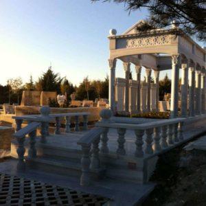 Ayaş Değişik Özel Tasarım Mezarlar