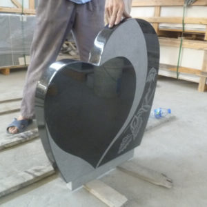 Lale Mermer Granit Mezar Baş Taşı