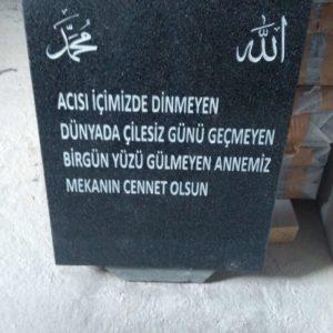 Izmir Mezar Taşına Resim Ve Yazı Modelleri