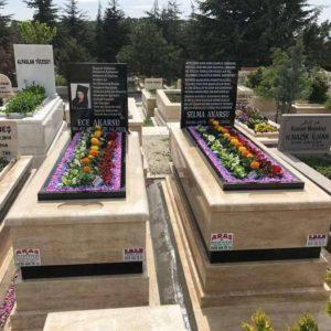 Kırıkhan Traverten Mermer Mezar