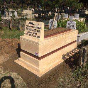 Çamlıdere Traverten Mermer Mezar
