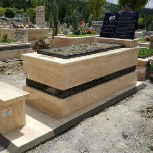 Güdül Traverten Mermer Mezar